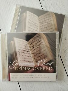 CD Gregorian Chant Rediscovered by the Monks of Solesmes St Peter Abbey