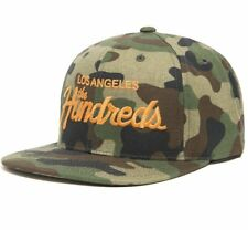 THE HUNDREDS FOREVER TEAM SNAPBACK CAP CAMO