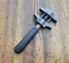 Antique Tools Adjustable 2-Jaw WRENCH VINTAGE Rare Tools USA