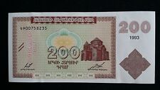 ARMENIA 200 Dram 1993 P37b UNC Banknote
