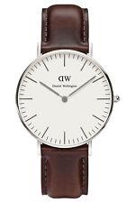 Ladies Daniel Wellington Bristol Silver 36mm Watch 0611dw