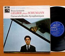 SXLP 20108 Gelber Plays Schumann Carnaval & Etudes Symphoniques NM/VG Stereo