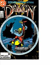 Lot Of 3 Demon DC Comic Book #1 2 3 AB3