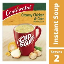 Continental Cup A Soup Creamy Chicken & Corn with Croutons 2 pack 60g