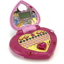 Disney VTech Princess Magical Learning Laptop Computer Pink Kids Heart Working
