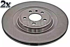 Brake Disc Rear Axle x2 pcs Fits AUDI A6 A7 A8 C7 4H 4GC 4G2 4G S8 4H0615601F