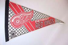 Detroit Red Wings NHL Pennant Flag