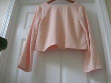 NWT 68.00$ TOPSHOP,Top Peach color ,  Sz 10