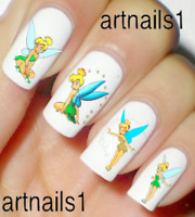 Tinkerbell Disney Nail Art Peter Pan Water Decals Stickers Manicure Salon Polish