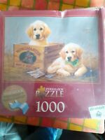 1000 piece jigsaw puzzles. Wingmaster. Labrador puppies.