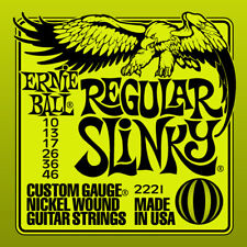 Ernie Ball Standard Slinky NICKEL cordes