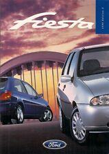 Ford Fiesta 1998-99 UK Market Sales Brochure Ghia X Zetec LX Zetec Encore