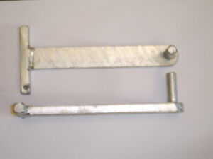 wrought iron gate hangers build in hinges - gate hinge 10 mm pin / 10 mm spigot