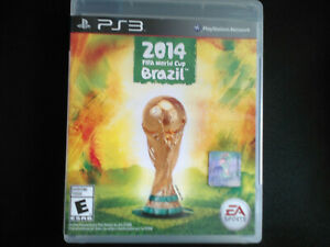2014 World Cup Brazil PS3 Complete, Tested, Sanitized, Adult Owned Free Ship CAN