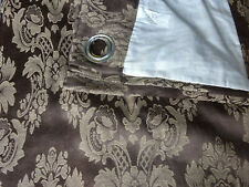 """Ring Top Lined Curtains 84"""" x 66"""""""