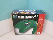 OVP+Inlay für Controller Grün Green Nintendo 64 BOXed Pad Joystick cib box