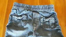 H&M bow pocket jeans age 4 to 5 years excellent condition