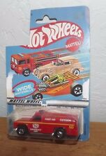 1983 HOT WHEELS EMERGENCY RESCUE TRUCK ROUGH PACKAGE VALUE PRICED!!!!