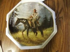 """Mystic Warriors 8"""" Plate Collection Peace Maker C.O.A. & foam packing"""