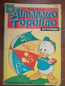 Walt Disney 1972 130 page Italian Comic.  No:189    Almanacco Topolino