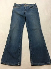Polo Ralph Lauren Womens 10 x 28.5 Denim Stretch Kelly Blue Jeans Medium Wash