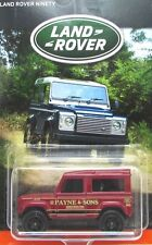 2016 Matchbox LAND ROVER ANNIVERSARY 1987 LAND ROVER DEFENDER 90 mint on card!