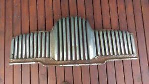 HOLDEN FX 48 215 FRONT 29 BAR CHROME GRILLE USED SPARE PARTS OR RESTORATION