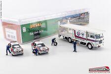 BREKINA 58476 - H0 1:87 - Camion Fiat 642 Bisarca LANCIA MARTINI con vetture da