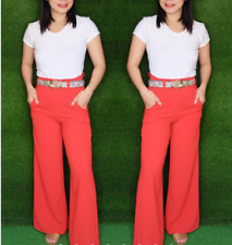 WHITE HIGH WAIST SQUARE PANTS