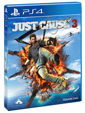 Just Cause 3 BRAND NEW (Sony PlayStation 4, 2017)