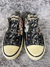 Ed Hardy Shoes Before Dishonor Women's Size 7 Sneakers Canvas Slip On Shoes
