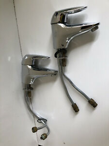 2 X GROHE Basin Mixer Taps - Genuine Made In Germany - Rating 5*