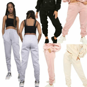 JYO Womens Fleeced Lined Ruched Ankle Joggers (930JOGGER)
