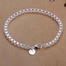 New products Wholesale Men Women 925 silver Filled Bracelets Fine Christmas Gift