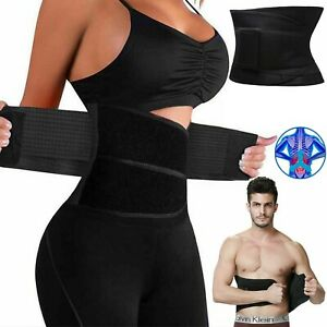Women Waist Trainer Cincher Zipper Vest Body Shaper Corset Girdle Slimming Belt