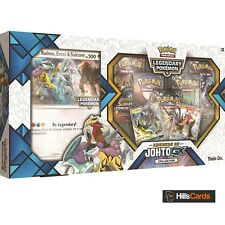 Pokemon Legends of Johto GX Premium Collection Box: Booster Packs + Promo Cards
