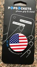 PopSockets Single Phone Grip PopSocket Universal Phone Holder American Flag