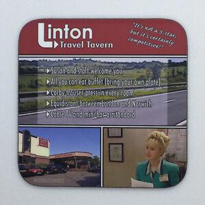 Linton Travel - I'm Alan Partridge Coaster / Bar Mat - Sturdy, Gloss, Original