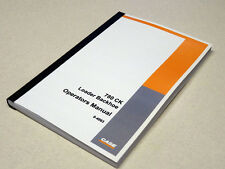 Case 780CK/780 CK Loader Backhoe Operators Manual Owners Maintenance Book NEW