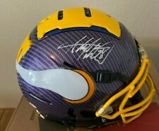 Adrian Peterson signed Minnesota Vikings Full Size AuthenticHYDRO Dipped Helmet