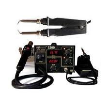 GQ brand 5200 Light pack+ hot tweezer SMD Rework station hot air soldering Iron