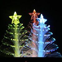 Mini Christmas Tree Light Color Changing LED Xmas Tree Lamp Home Decoration New