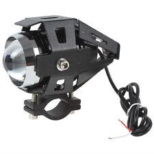 U5 CREE LED 125W Motorrad Scheinwerfer Schwarz Zusatzscheinwerfer Headlight Lamp