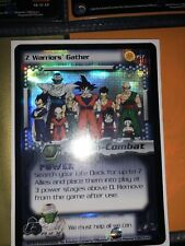 Dragon Ball Z Z Warriors Gather Ultra Rare UR 157 Score Panini CCG DBZ limited