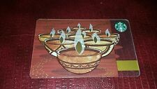 "2014 Exclusive (Deepavali) ""Festival of lights"" DIWALI INDIA Starbucks Card"