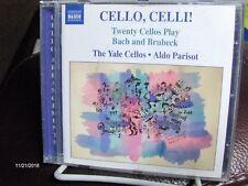 CELLO CELLI Twenty Cellos Play Bach and Brubeck The Yale Cellos Aldo Parisot CD