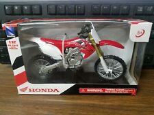 New Ray Honda Red CRF250R Dirt Bike Kids Toy 1:12 Die-Cast Replicas 57463