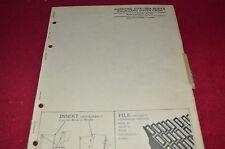 John Deere 180A Series Disk Dealer's Parts Book Manual PANC
