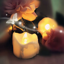 Hot Sale Yellow Flicker Electric Candles Flameless Tea Lights Wedding Decoration