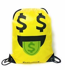 Emoji Bag for Kids Boys and Girls Halloween Drawstring Backpack for School